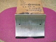 1965 65 Chrysler New Yorker NOS MoPar FUEL FILLER DOOR & FINISH PANEL 2573814