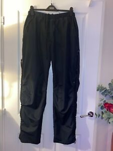 Paramo men's large navy blue waterproof trousers