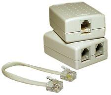 Access Communication ADSL FILTER/SPLITTER ACCK2320ASH 6P4C *Australian Brand