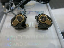 BLON BL-05 In-Ear Monitors Earphones Gun Metal Grey and Gold