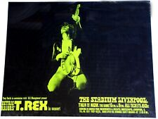 More details for t-rex poster - printing error - electric warrior tour liverpool 1971
