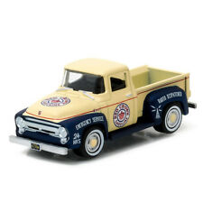 1/64 1956 Ford F-100, Red Crown Gasoline, Running on Empty Greenlight NEW 41010a