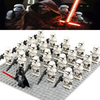 21PCS Heavy Armor First Order Stormtrooper Building Blocks Mini Figure DIY Toy