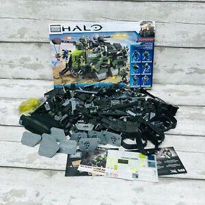Mega Bloks Halo UNSC Elephant Troop Carrier Set 97381 Incomplete Missing Parts