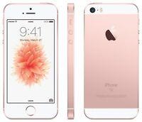 Apple iPhone SE 16GB - GSM UNLOCKED AT&T TMobile - 4G LTE Smartphone - Rose Gold