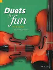 Duets for Fun: Violins Easy Pieces to Play Together Performance Score 049045151
