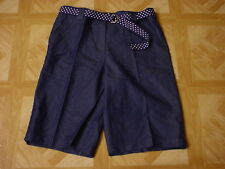 White Stag Women's Woven Belted Shorts Size 6, 8, 10