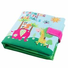 Soft Baby Cloth Book Early Educational Newborn Crib Toys for 0-36 Months Infa WQ