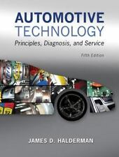 Automotive Technology by James D. Halderman Book FREE SAME DAY SHIPPING!!