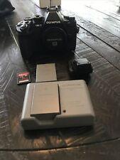 Olympus OM-D E-M1 16.3MP Digital Camera - Black (Body Only)