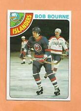 BOB BOURNE  TOPPS 1978-79 CARD # 126  ISLANDERS