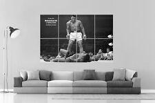 MOHAMMED ALI MUHAMMED VS ALI SONNY Wall Art Poster Grand format A0 Large Print