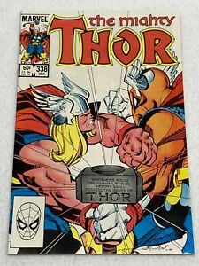 THE MIGHTY THOR #338 MARVEL 1983