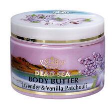 Body Butter Lavender & Vanilla Patchouli 300ml/10oz Dead Sea Minerals