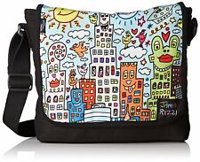 Damen Umhängetasche artprint James Rizzi My New York City Tasche Handtasche neu