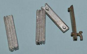 "O-scale or 1/4"" Steam Heat Radiator, Metal Kit-Dollhouse Miniature"