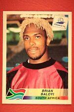 PANINI WC WM FRANCE 98 1998 176 SOUTH AFRICA BALOYI WITH BLACK BACK MINT!!