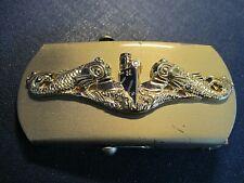 US Navy Submarine Service Belt Buckle for Strap/Webbing Belt