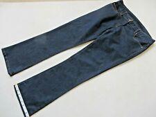 "Bravissimo Dark Denim Cotton Jeans Size 12 Waist 32"" Inside Leg 30"""