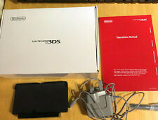 Nintendo 3DS  Ice White Box + Charger + Charging Dock + Manual