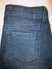 DKNY Skinny Jean Stretch Womens Dark Blue Denim Jeans Size 4 x 31 Mint KCMUJ676