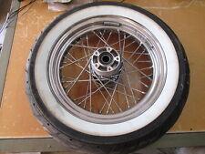 Harley Davidson Front Wheel w/ 40 Spokes 16 x 3 62706 Dunlop D408F M/C 67H Tire