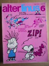 ALTER LINUS n°6 1974 Cortazar illustrato da Dino Battaglia  [G417]