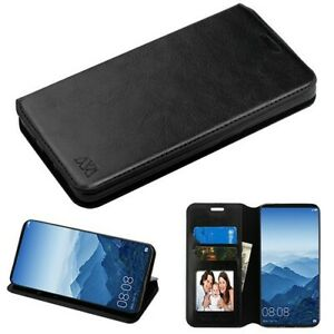 HUAWEI Mate 10 /Pro Leather Folio Flip Wallet Card Phone Case Cover Stand Pouch