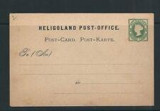 Heligoland c1860s Unused Post-Karte Postcard