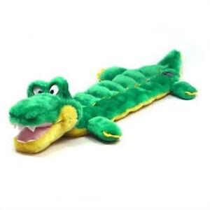 "OUTWARD HOUND - Squeaker Matz Long Body Large Gator Dog Toy - 27"" Long"