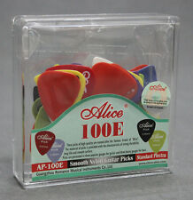 100pcs/Box Alice AP-100E Smooth Nylon Guitar Pick Picks Plectra 0.58/0.71/0.81mm