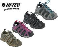 Hi-tec Walking Sandals Closed Toe Womens Slingback Cove Comfort Hiking Flats