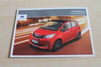 129238) Subaru Trezia - Sport - Edition - Prospekt 05/2012
