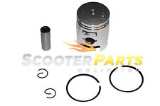 Piston Kit w Rings 49cc 50cc Scooter Mopeds Kymco Vitality 50 2T Super 8 50 2T