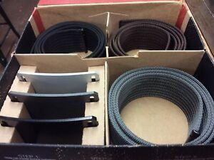 """Grip 6 3 Pack Belts Silver,black,brown W/buckles 36""""-40"""""""