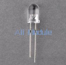 100PCS 5 mm 940 µ Diodo De Emisión de tubo de lanzamiento infrarrojo IR LED Lámpara emisor am