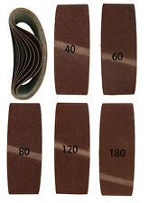 30 Gewebe-Schleifbänder 75 x 457 mm K40-180 MIXPACK Schleifband Bandschleifer