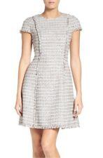 ELIZA J TWEED FIT & FLARE DRESS sz 8