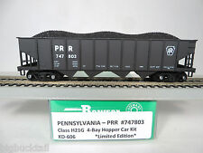 Bowser/K&D Hobby PENNSYLVANIA black H-21G 4 Bay Hopper Car KIT #747803 *Limited*