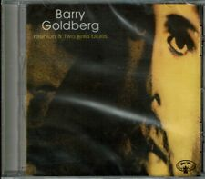 Rare Barry Goldberg Reunion / Two Jews Blues CD OOP Sealed