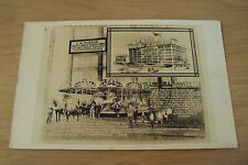 "RARE 1920's AD Trade/Post Card~""MERRY-GO-ROUND""~C. W. Parker AMUSEMENT Co~RPPC"