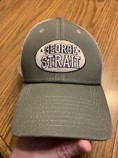 George Strait Adjustable Cap Euc