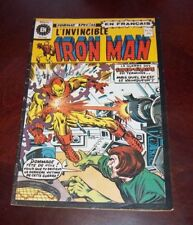 Editions Heritage Invincible Iron Man # 32 1976 French Edition Black White