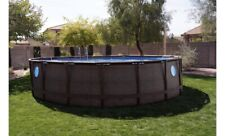 "Brand New Coleman 18'x48"" Power Steel Swim Vista Series Ii Swimming Pool Set"