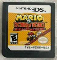 Mario vs Donkey Kong Mini-Land Mayhem - Nintendo DS (2010)