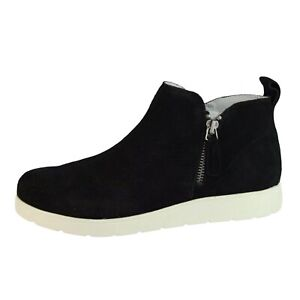 White Montain Beaumont women's shoes sneakers black suede leather size US 9