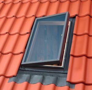 VELUX Dachausstiegsfenster VLT 1000, Dachausstieg inkl. Universal Eindeckrahmen