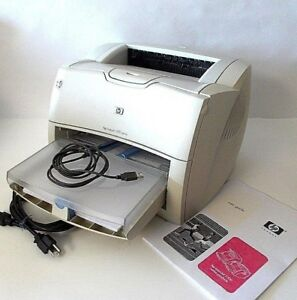 HP LaserJet 1200 USB Workgroup Laser Printer-WITH HP TONER-PAGE COUNT 26450