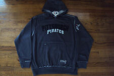 PITTSBURGH PIRATES NEW MLB MAJESTIC CLASSIC EXPERIENCE HOODED SWEATSHIRT