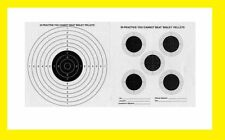 Double Sided Air Gun Rifle Targets 17x17cm in 50 Pck
